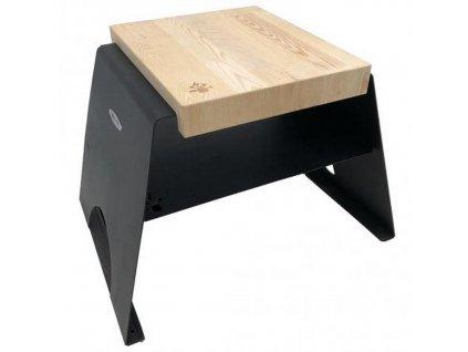 Dřevěná stolička Remundi Black