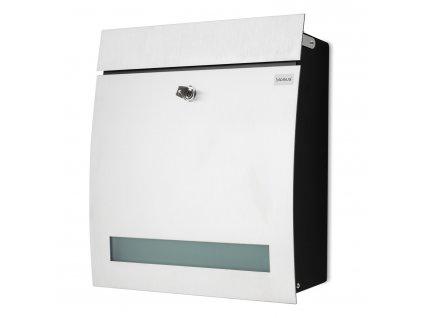 Poštovní schránka s okénkem uzamykatelná SIGNO