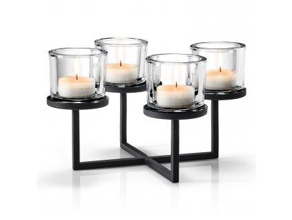 Čtyřramenný svícen v nordickém stylu NERO