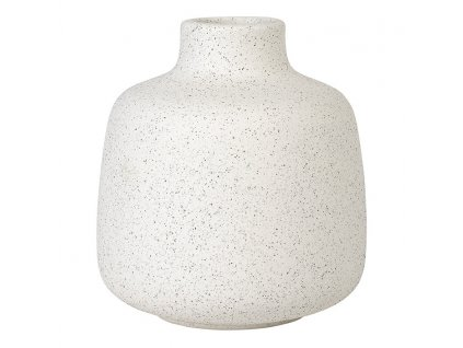 Váza RUDEA bílá Ø 12 cm