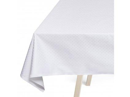 Ubrus white 160 x 165 cm SNOWFLAKES