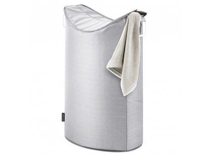 Koš na prádlo FRISCO šedý