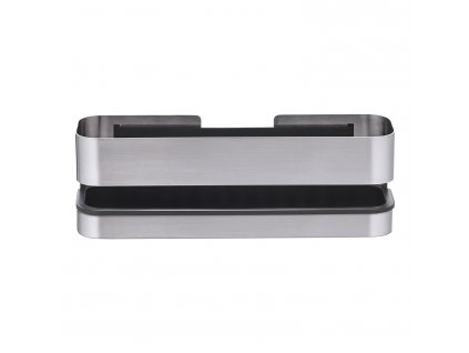 Nástěnná koupelnová police NEXIO matný nerez 25 cm