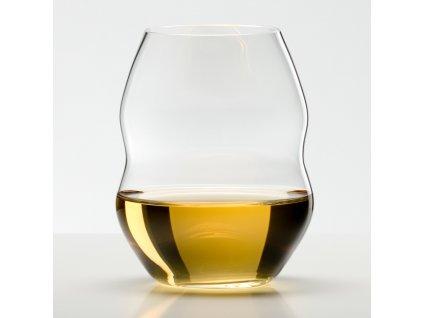 Sklenice na bílé víno Swirl