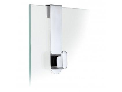 Háček na skleněné dveře AREO leštěný