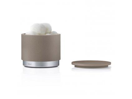 Úložný box na kosmetické potřeby ARA šedohnědý