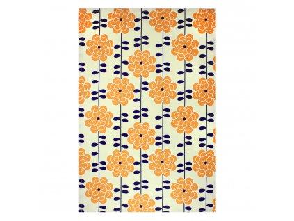 Kuchyňská utěrka/ručník MÜincotton® oranžová Aster