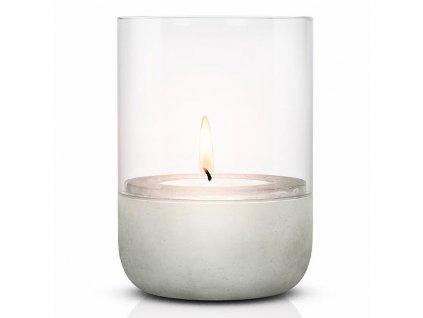 Svícen na čajovou svíčku CALMA 14 cm