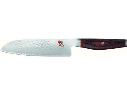 Japonský univerzální nůž SANTOKU 18 cm 6000MCT