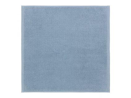 Koupelnová předložka malá PIANA 55 x 55 cm kouřově modrá