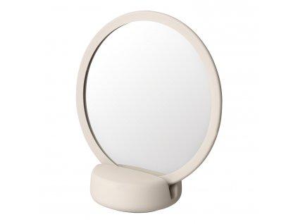 Kosmetické zrcadlo stolní SONO krémové