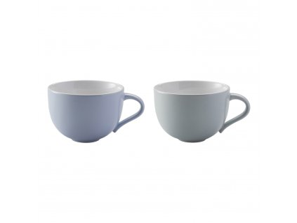 Hrnky na kávu malé Emma blue 2 ks danish modern 2.0