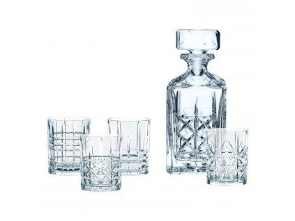 Whisky set 5 kusů Highland Nachtmann