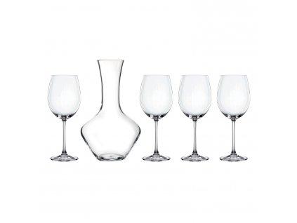 Set na víno s dekantérem 5 kusů Vivendi Premium
