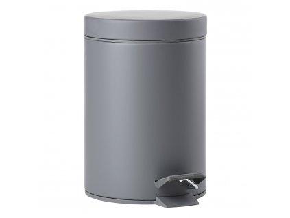 Pedálový odpadkový koš 3 l grey SOLO