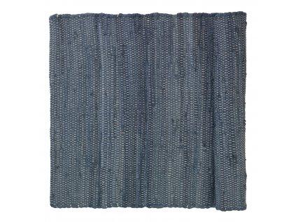 Bavlněný kobereček SOLO šedý 70 x 130 cm