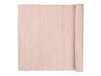 Bavlněný kobereček SOLO světle růžový 70 x 130 cm