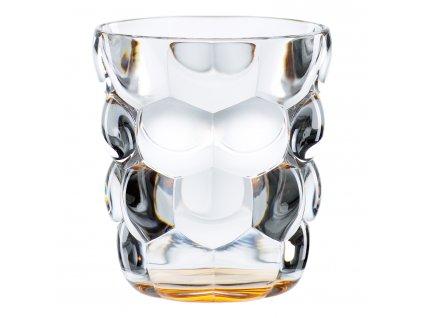 Set 2 univerzálních sklenic Bubbles oranžová
