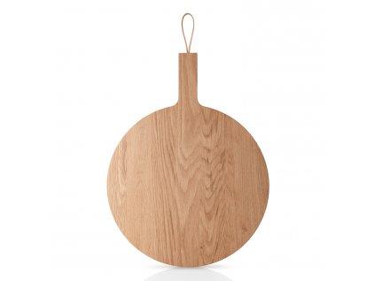 Dřevěné prkénko krajecí a servírovací kulaté Nordic kitchen