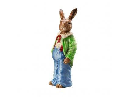 Hutschenreuther Hasenfiguren Bunny Man Colourful Coloured H 15