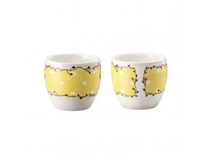 Hutschenreuther Springtime Egg Cup Sun Set 2 tlg