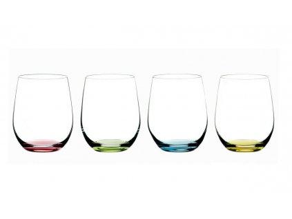 set barevnych sklenic happy o riedel 2