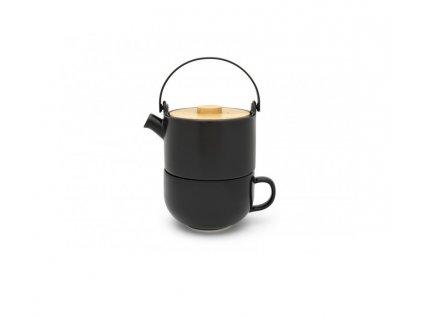 Čajová konvice Umea Tea for one Bredemeijer černá 500 ml