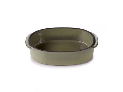 Zapékací miska Caractere Revol olivová 16x11 cm