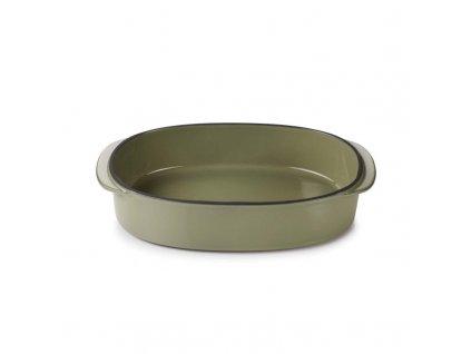 Zapékací mísa Caractere Revol olivová 26x18,5 cm