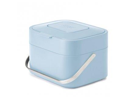Nádoba na kompostovatelný odpad Stack 30042 Joseph Joseph světle modrá 4 l