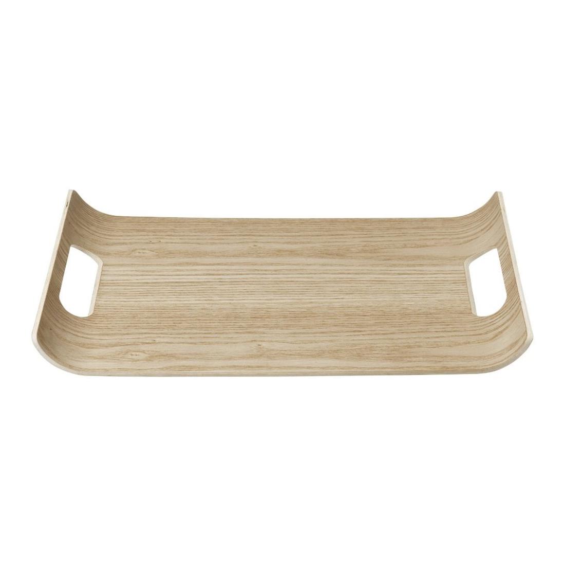Dřevěný tác s vyvýšenými okraji WILO malý Blomus - Blomus Dřevěvý tác WILO 35,5x25 cm