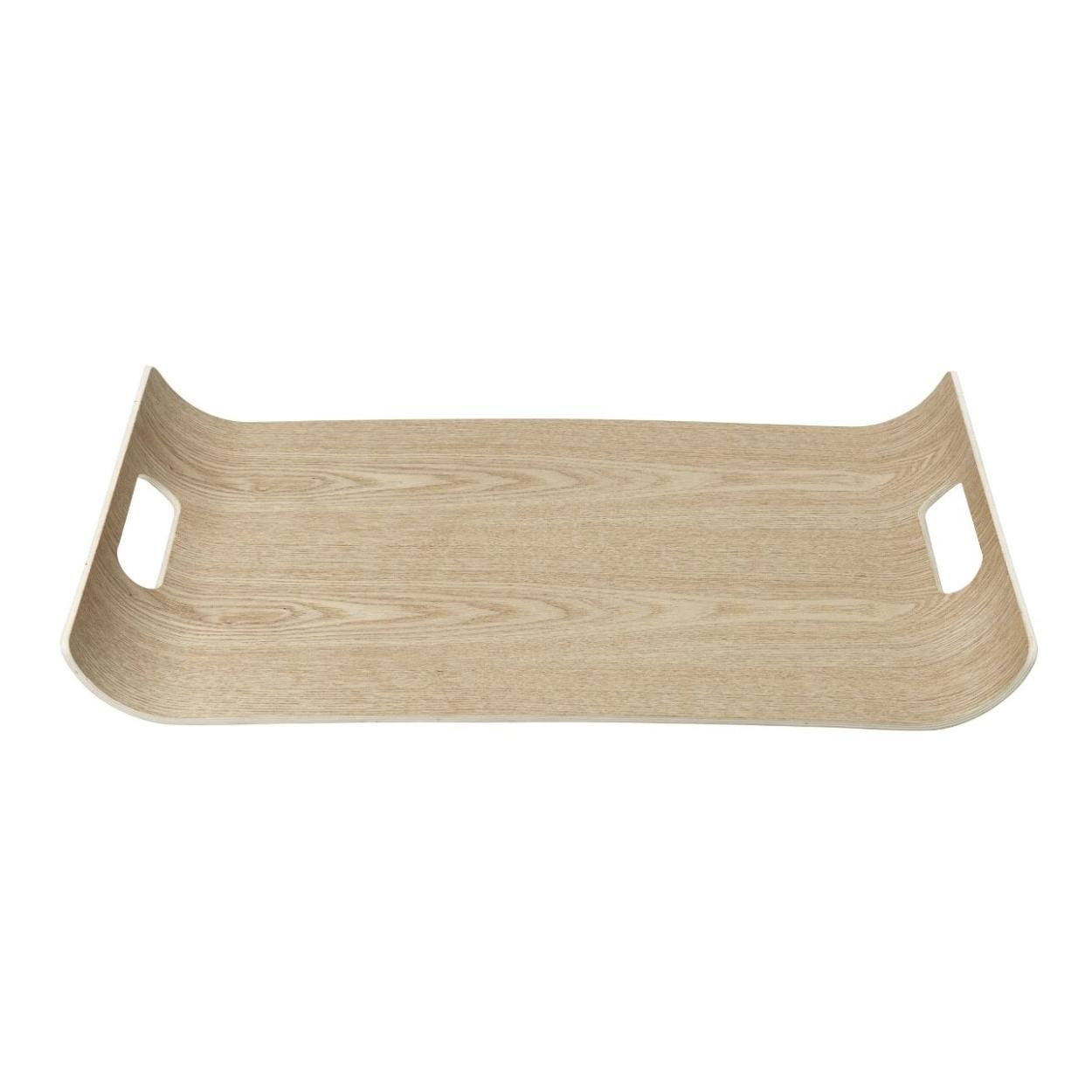 Dřevěný tác s vyvýšenými okraji WILO velký Blomus - Blomus Dřevěvý tác WILO 43x31 cm