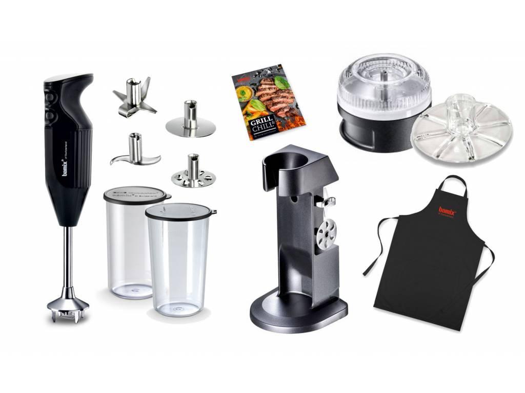 Tyčový mixér DE LUXE BBQ 200 černý® bamix