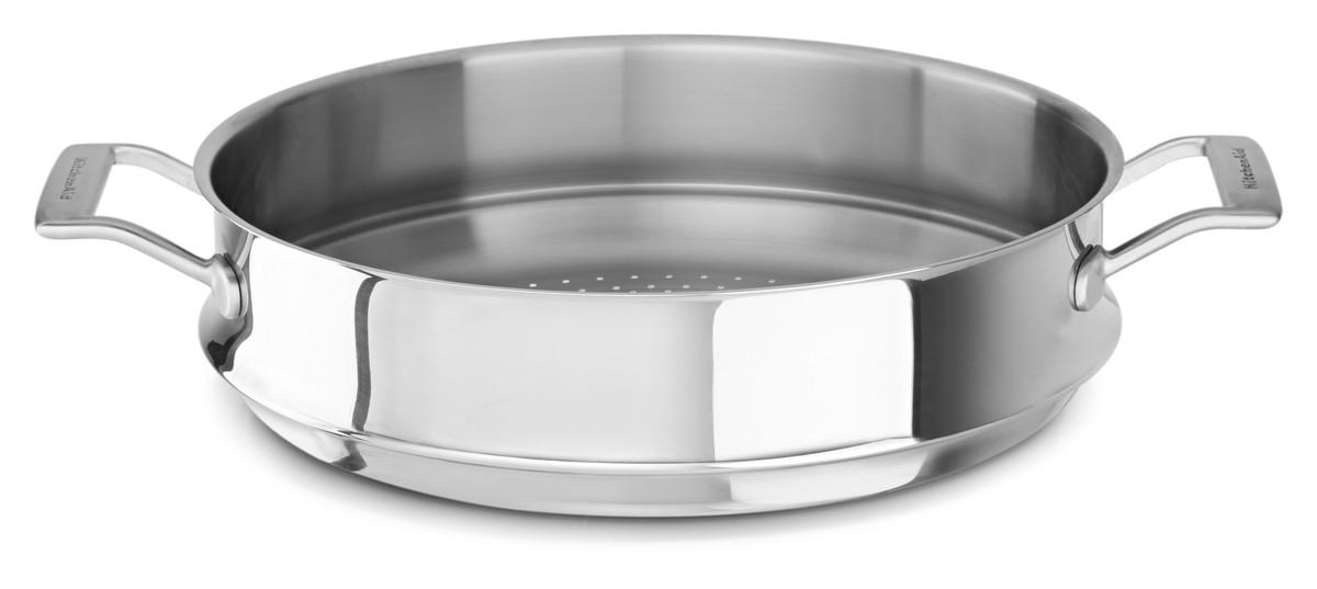 Napařovací vložka pro wok Ø 33 cm KitchenAid - KitchenAid Napařovací vložka do Wok pánve 33 cm