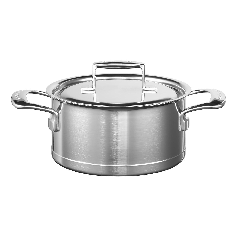 KitchenAid Nerezový kastrol Professional Ø 20 cm