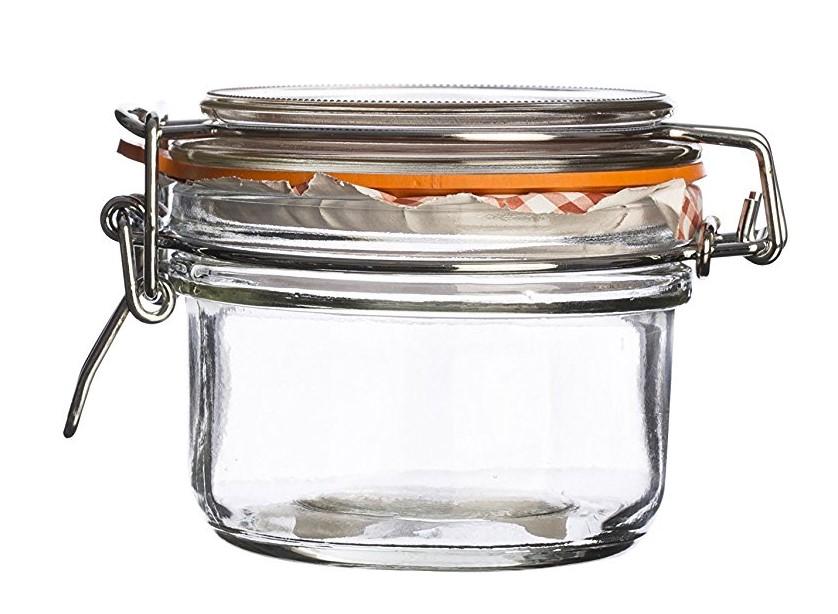 Dóza na potraviny s klipem Kilner 125 ml