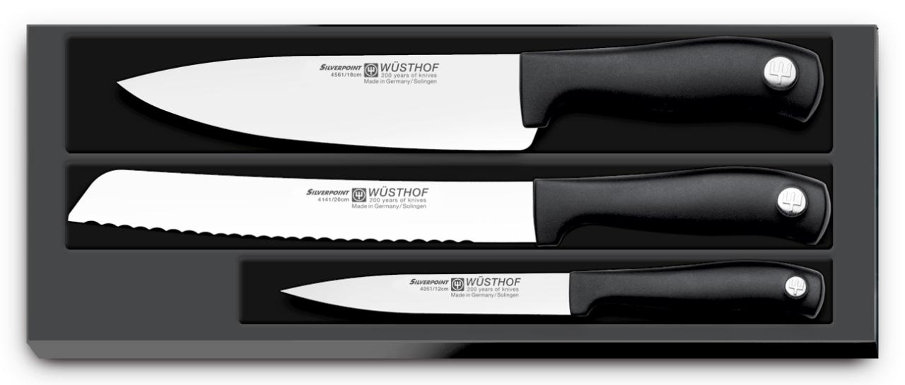 Sada nožů 3dílná WÜSTHOF Silverpoint - Wüsthof Silverpoint Sada nožů 3 ks 9815