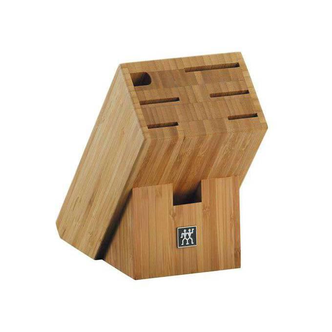 Blok na nože zkosený bambusový na 7 kusů ZWILLING
