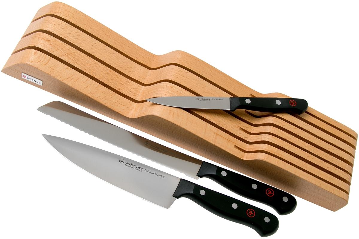 Sada nožů Gourmet s organizérem do zásuvky WÜSTHOF 3ks