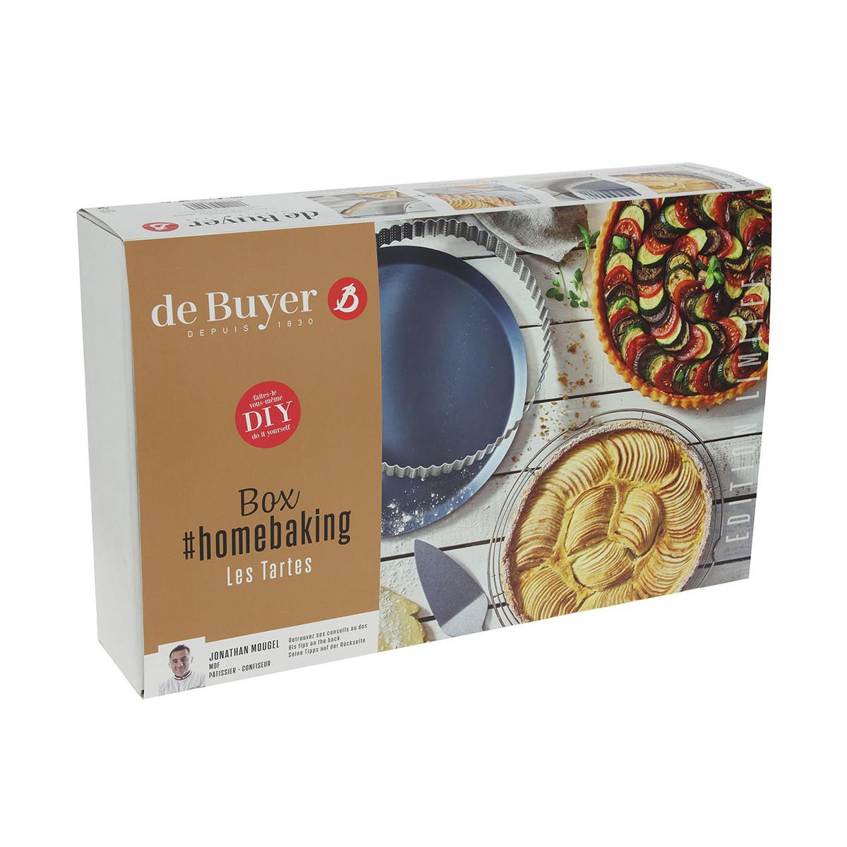 Sada na domácí pečení - koláče de Buyer 4 ks