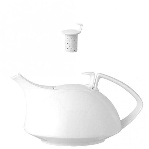 Konvice na čaj se sítkem Tac 3 Rosenthal bílá
