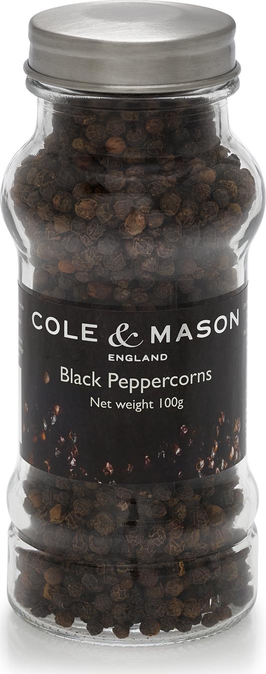 Náhradní náplň černý pepř Cole&Mason COLE & MASON - Cole & Mason Cole & Mason H3081816SRT Černý pepř náhradní náplň 100 g