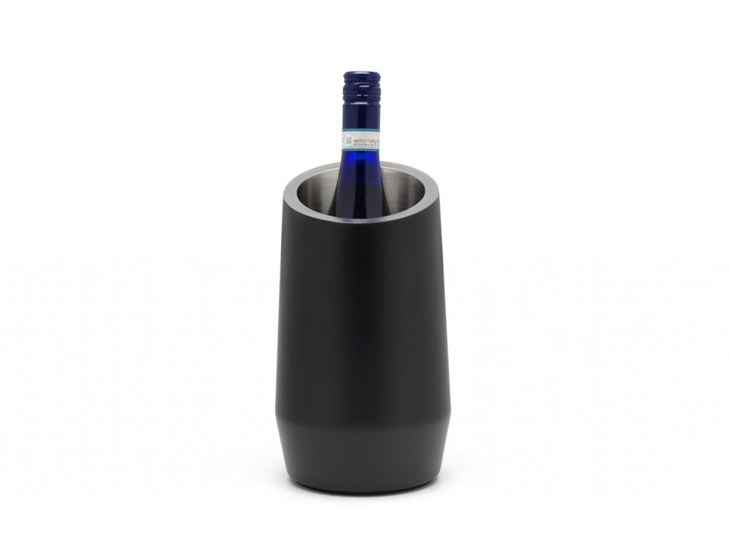 Chladič na víno Leopold Vienna černý dvojstěnný