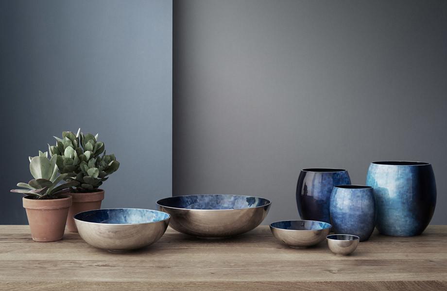 Dekoratív vázák és tálak
