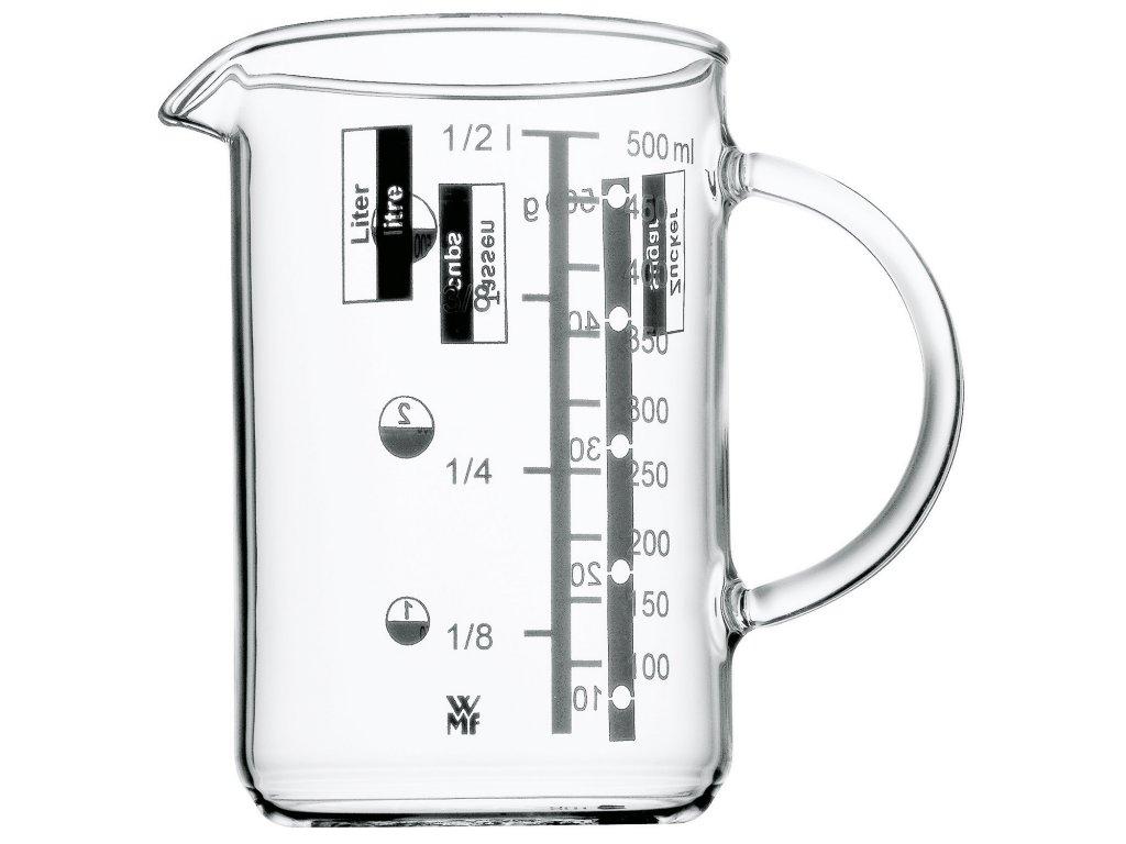 Üveg mérőedény, 0,5 liter, WMF