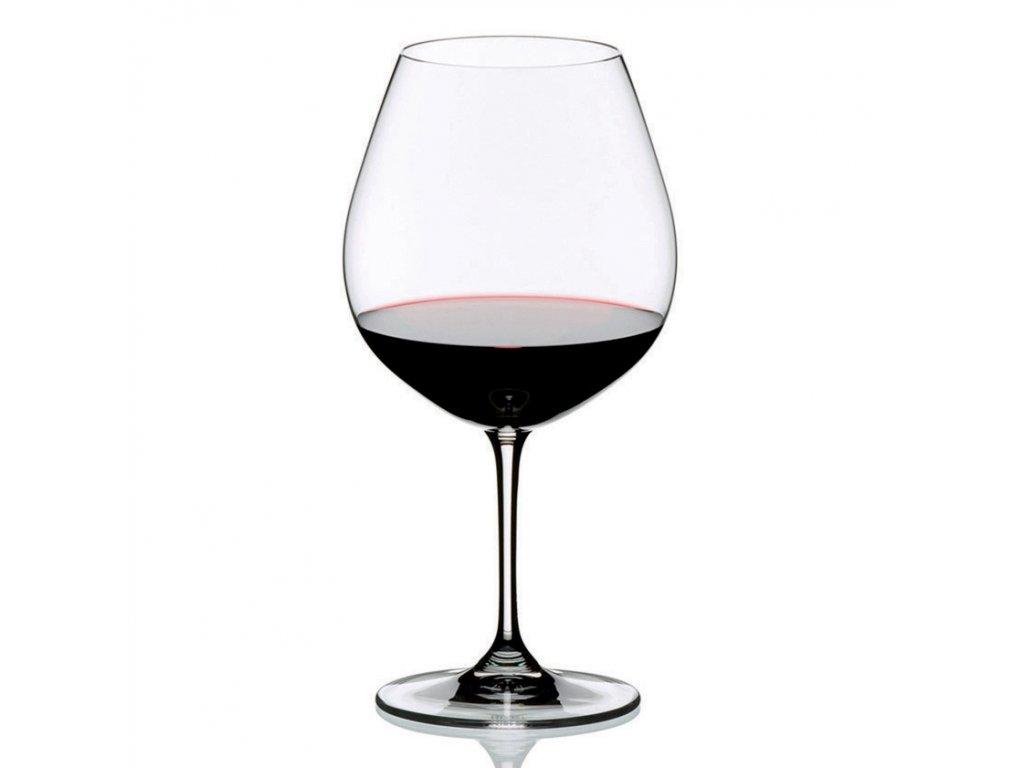 Burgundy kristály borospoharak, Vinum