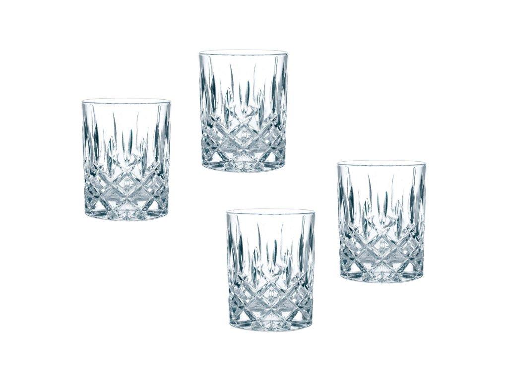 4 részes whiskys pohár készlet Noblesse