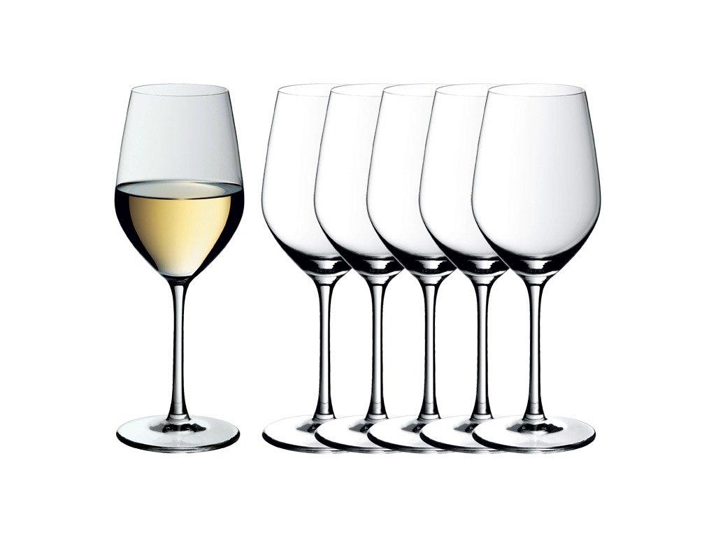 Easy Plus kristálypohár készlet fehérborhoz