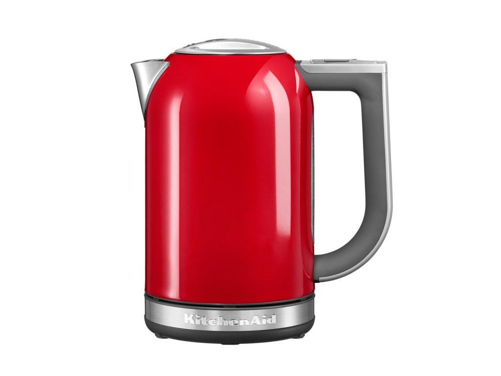 Vízforraló, 1,7 liter, tűzpiros, KitchenAid