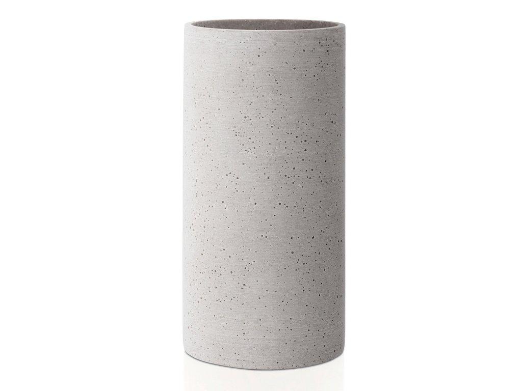 Coluna váza, közepes, világosszürke